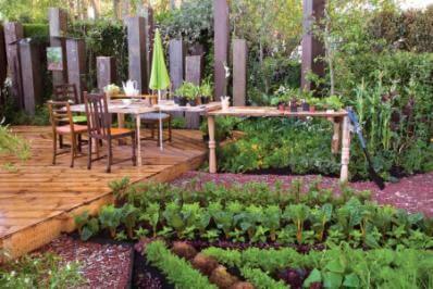 Jardin potager le potager for Jardin facile