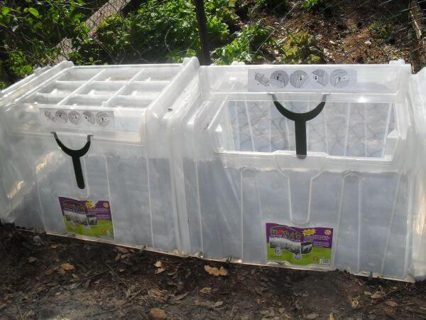 Modulo culture pouss vert serre tunnel le potager - Tunnel de forcage rigide pour jardin ...