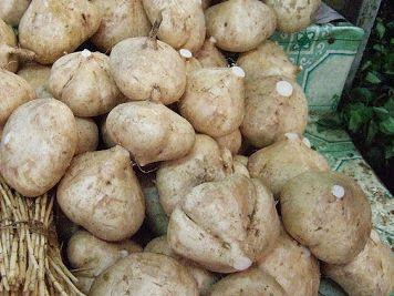 pois patates jicama